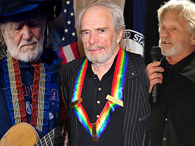 Willie, Merle, Kris