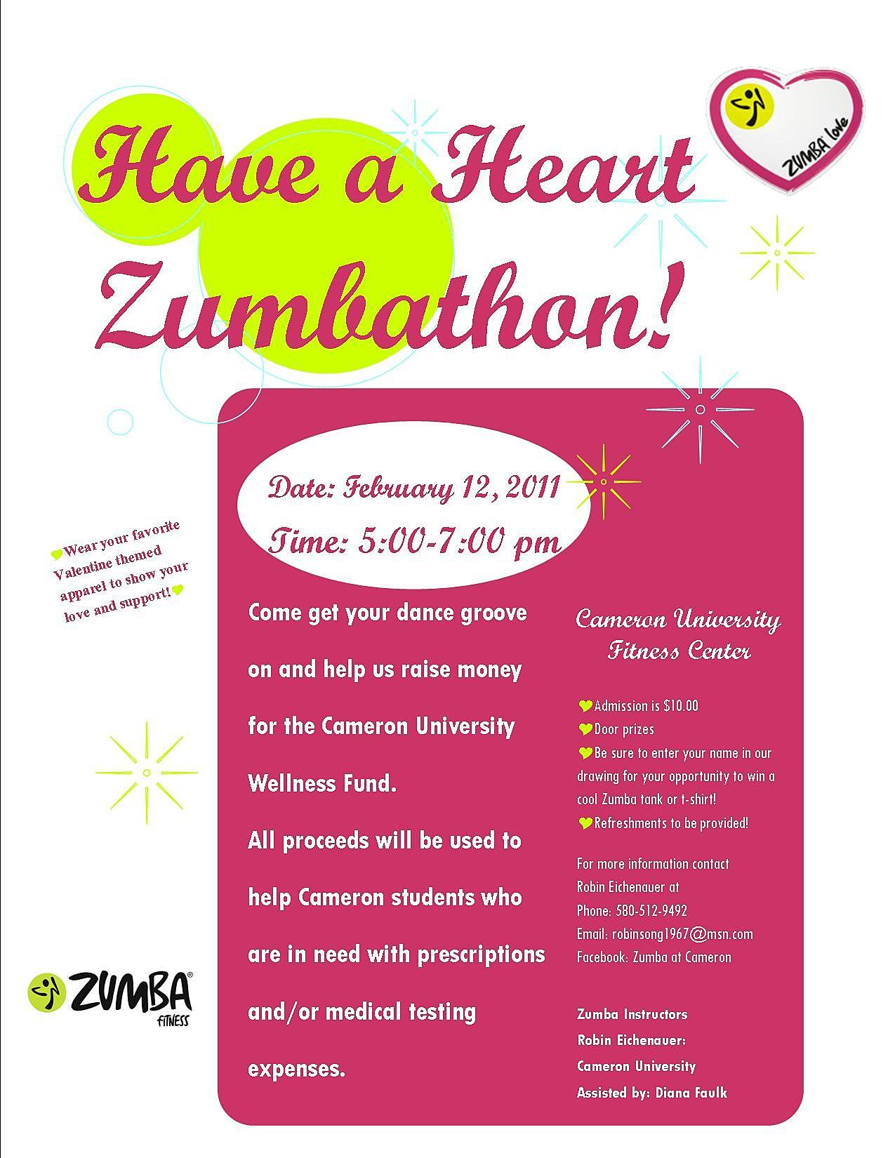 Zumbathon Flyers Zumbathon Flyers FreeZumbathon Flyer
