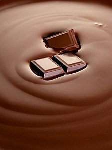 spring into chocolate