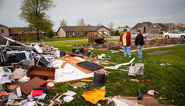 Tornado Hits Oklahoma
