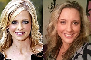 Taryn and Sarah Michelle Gellar