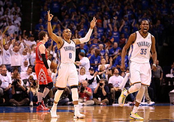 Houston Rockets v Oklahoma City Thunder - Game Two