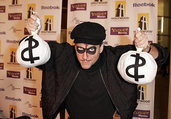 Fake Bank Robber