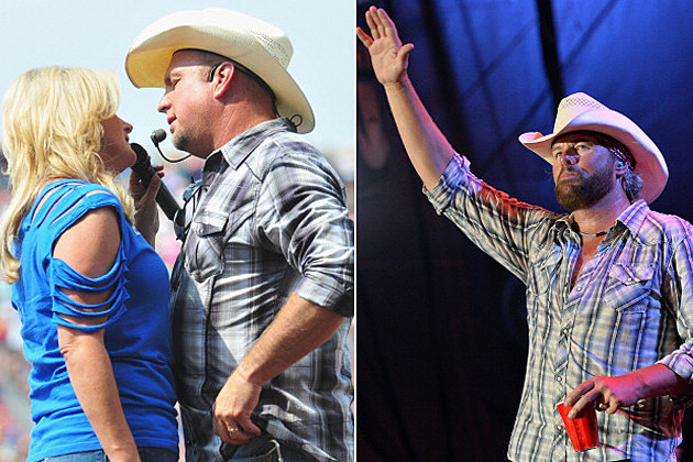 Toby Keith, Garth Brooks Oklahoma Twister Relief Concert