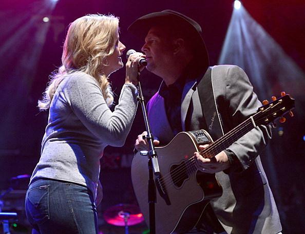 Garth & Trisha @George Jones Tribute Show