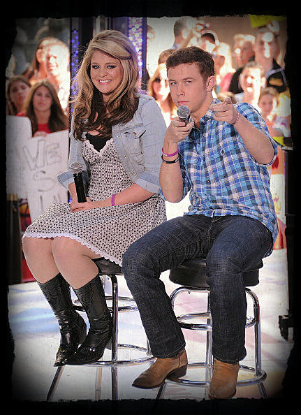 """Scott McCreery And Lauren Alaina Finalists From """"American Idol"""" Season 10 Perform On NBC's """"Today"""""""