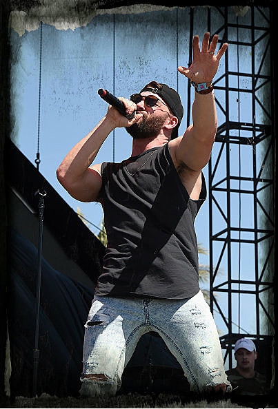 The Toyota Mane Stage stage during day 1 of 2017 Stagecoach California's Country Music Festival Dylan Scott performs at the Empire Polo Club on April 28, 2017 in Indio, California.